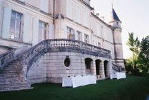 Les marches du Chateau de Fléac (Charente)