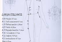 patrones ropa muñecas
