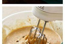 Waffeln / Waffles, Pancakes/ Pfannkuchen
