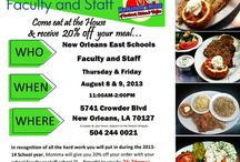 Ma Momma's House Specials / Promotions, coupons, daily specials
