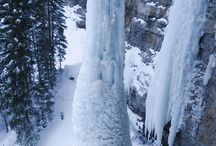Ice Climbing! / Climbing is the activity of using one's hands, feet, or any other part of the body to ascend a steep object