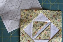 Freezer paper piecing and tutorials