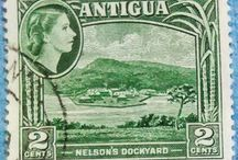 Personal STAMPS Collection ANTIGUA