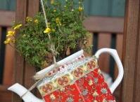 Teacup / teapot planters