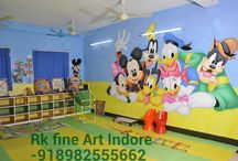 Rk fine art / I am specialized in Play School Wall Paintings, oil paintings, acrylic paintings, water color paintings, calligraphy, portraits, beautify by theme creation, etc. I would like it if I would get a chance to share my artistic talent with you. It would be a pleasure for me to clear your queries.  Contacts:91-9039445552                  91-8982555662 E-mail- antim.pareta111@gmail.com  Thank you!! With regards Antim Pareta