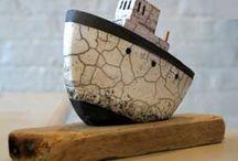 poterie bateau