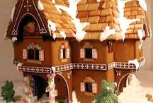 Ginger Bread House / Inspiration for our annual family competition / by Erica Penton