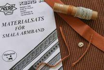 Small armband materials