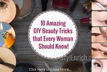 DIY Beauty Tips & Tricks