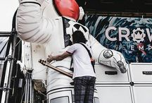 Inflatable Astronauts for Crown The Empire