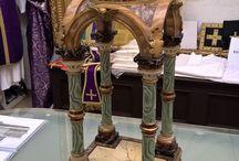 Reliquiari e restauri / Realizzazione di due reliquiari e restauri. Opere su commissione.