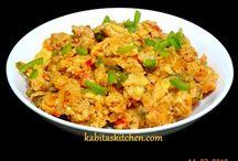 cheesy egg bhurji