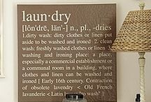 For the Home: Laundry / by Amanda Robinson
