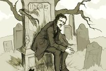 Edgar Allan Poe / This is a tribute to my favourite author and poet. The king of macabre Edgar Allan Poe. I have collected pictures, illustrations, excerpts and poems by Poe here. Enjoy!