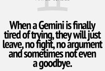 Gemini / All about my zodiac