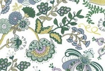 Wedding Colours: Liberty print inspired / Liberty print inspired coloured scheme of lavenders, greys, blues and greens