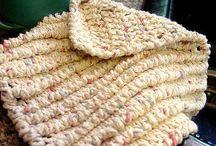 Crocheted Potholders & Things