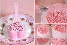 cake decorating idea - buttercream