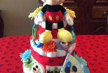 Diaper cake girl