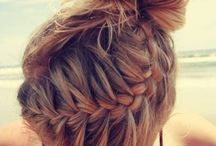 Hair / Wish I could french braid!
