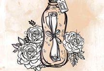 Bottles / Vial / Бутылочки