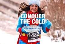 2014 ColderBOLDER / Calling all cold-hearted, cold-blooded runners, rebels and fitness junkies. The ColderBOLDER 5K has an open race for anyone and It all takes place on Dec. 6 2014 at the beautiful University of Colorado campus, and finishes inside the toasty warm Balch Field House. So layer up, grab a hat and join us. Be one of the proud ... the cold, the bold.