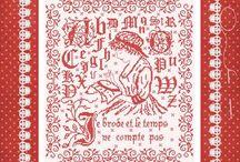 création de dessin pour la broderie au point de croix / Modèles originaux ouvrage à broder pour le point de croix www.annickabrial.net
