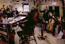 Orchestras, ensembles ...