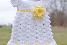 crochet baby dress patterns / by jennyandteddy