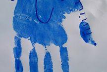 arte con manos