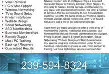 Computer Repair & Technology / Computer Repair, Naples Florida Tech, Naples PC provides Virus Removal, Laptop Screen Repair, Websites, Anti-Virus Software, Apps, Tablets, and Phone Support. 239-594-8324