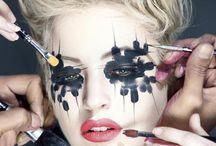 Makeup artist portrait