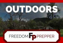 Outdoors / Everything outdoors, hunting, fishing, camping and hiking, all from the contributors of Freedom Prepper.