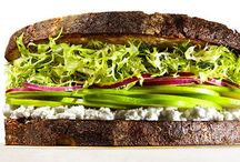 Sandwiches & Burgers / We all know food tastes better in a sandwich, wrap or burger! This board has hundreds of healthy lunch and dinner options, all wrapped or bunned!