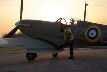 Radiocontrolled aircraft