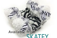 Animal Prints / Ice skating clothing and accessories with animal prints.