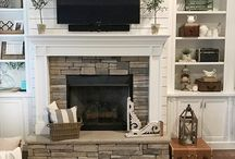 Fireplace ideas!!