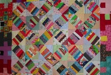scrappy quilts / by Kathryn Cookson