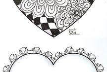 Mandala/Zentangle/Doodle/Pattern/Tangles