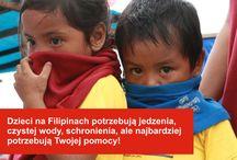 Tragedia na Filipinach / Rankiem 8 listopada 2013 roku w wyspę Samar uderzył tajfun Haiyan, najsilniejszy tajfun, jaki kiedykolwiek uderzył w ląd. Ucierpiało niemal 5 mln dzieci. Pomoc potrzebna jest natychmiast. Na Filipinach brakuje wszystkiego: czystej wody, żywności, leków, schronienia. UNICEF apeluje o pilne wsparcie: www.unicef.pl/filipiny