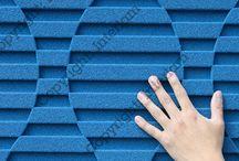 Material Crush - Blue