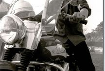 Elvis with his Harley-Davidson