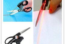 ciseau de couture a laser  pour coupe droite pratique !!!
