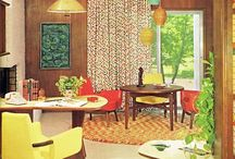 Retro Lifestyle / Retro, art deco,  mid century modern decor, furnishings - eclectic mix of style from days gone by