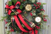 Christmas wreaths / by Vickie Boyer