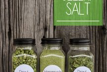 Spices and Fragrant Salts