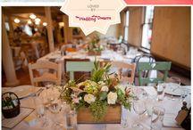 Shabby Chic / Rustic/shabby chic style wedding decor / by Finola Gallagher-Taaffe