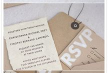 invitations etc. / by Susan Chrisenberry