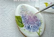 Hand painted Cookies Tutorials and Ideas