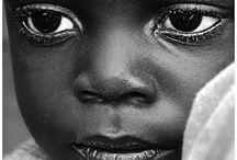 Olhares de criança / Olhares retratados em fotos